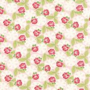 Moda Ambleside by Brenda Riddle - 3854 - Pink Floral - 18601 12 - Cotton Fabric